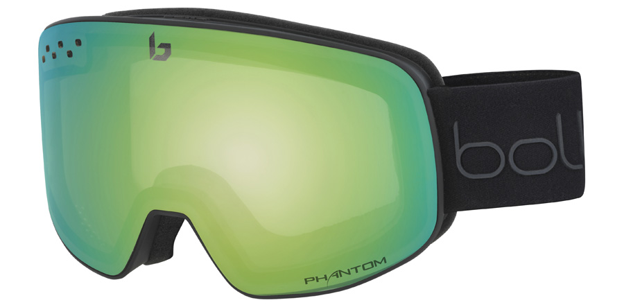 Bolle Nevada 21833 Matte Black / Green Diagonal 195mm