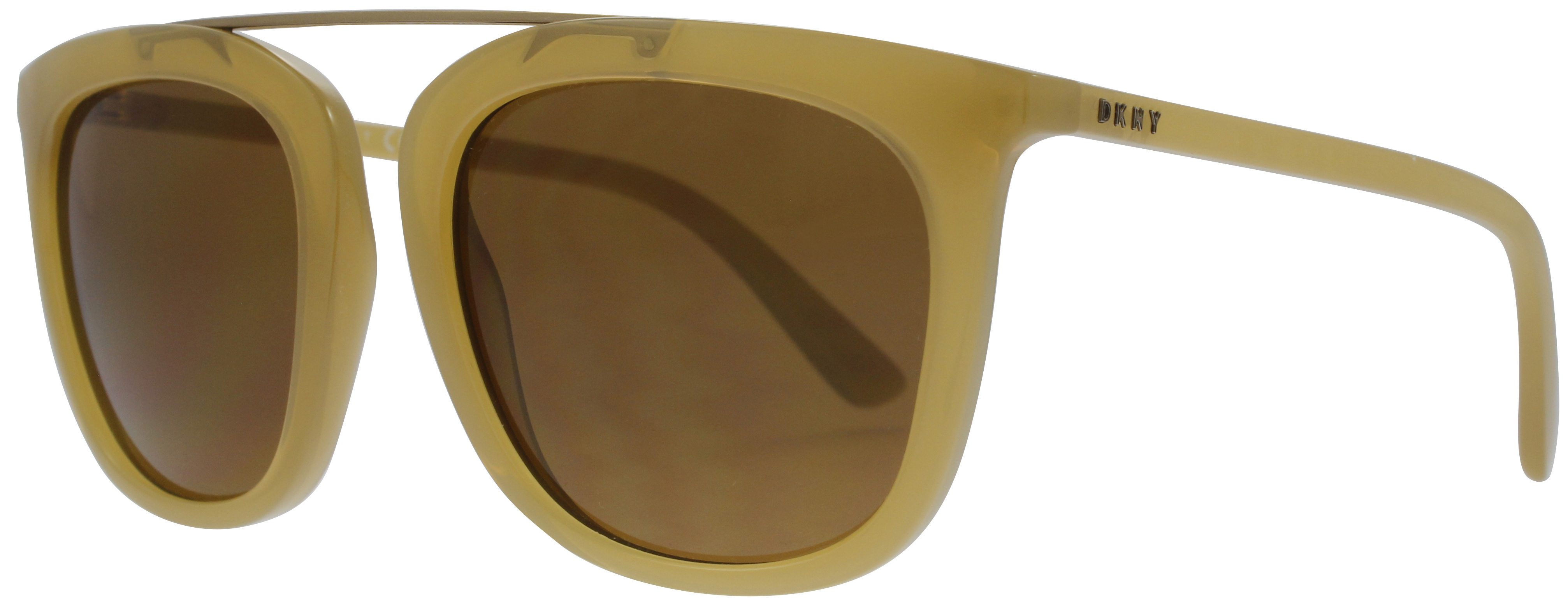DKNY DY4146 Sonnenbrille Braungelb 3733/73 53mm Je4ht