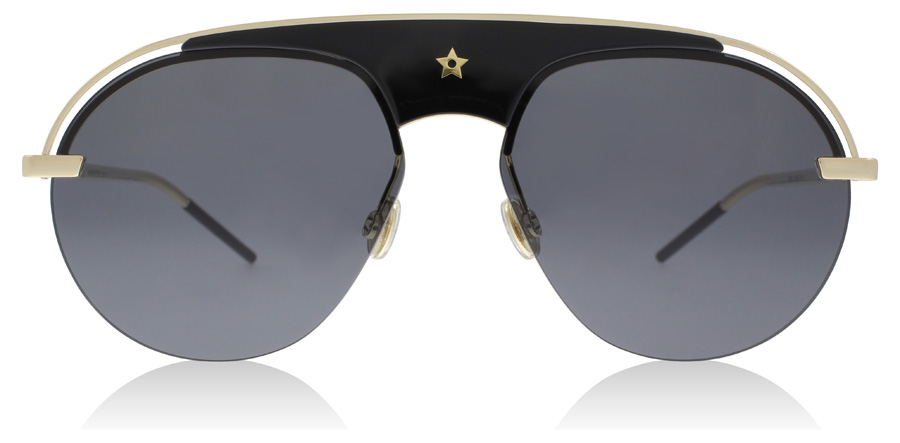 Christian Dior DiorEvolution Schwarz / Gold 2M2 58mm