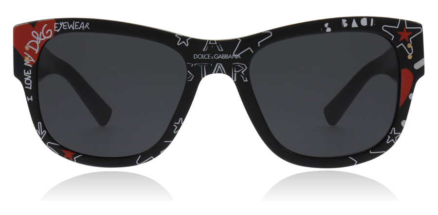 Dolce and Gabbana DG4338 Black 318087 52mm