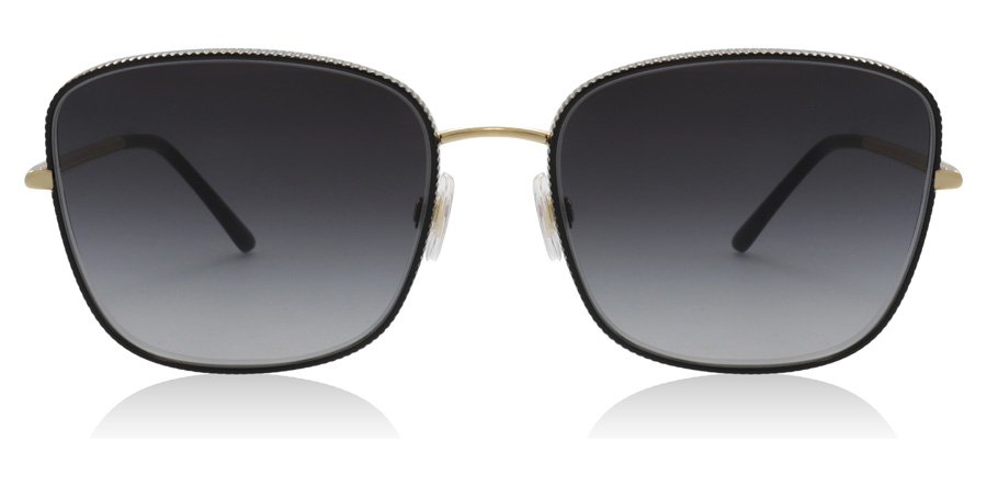 Dolce and Gabbana DG2223 Black / Gold 13128G 58mm