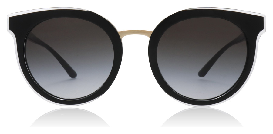 Dolce and Gabbana DG4371 Top Crystal On Black 53838G 52mm