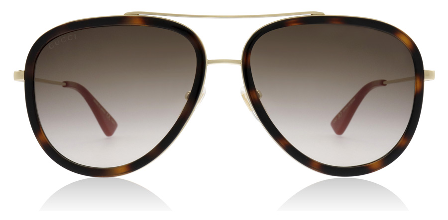 Gucci GG0062S Tortoise / Gold 012 57mm