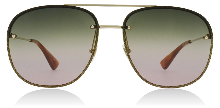 Gucci GG0227S Gold 004 62mm