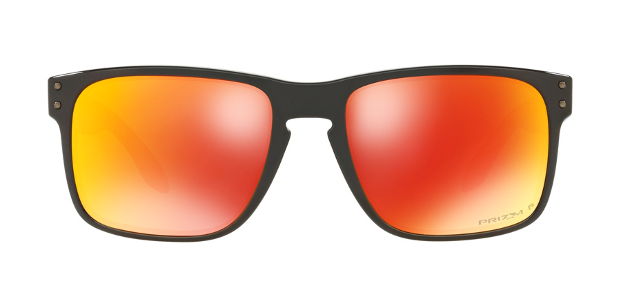 Oakley Holbrook OO9102 Polished Black F1 57mm Polarisiert