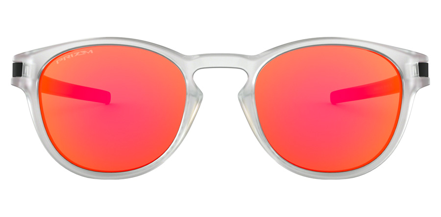 Oakley Latch OO9265 Matte Clear / Prizm Ruby 47 53mm