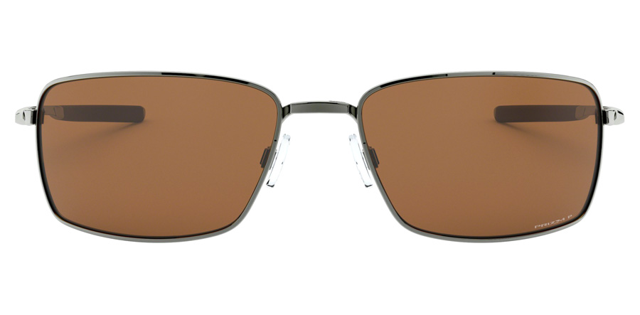 Oakley Square Wire OO4075 Tungsten 14 60mm Polarisiert