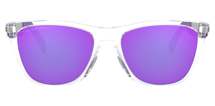 Oakley Frogskins Mix OO9428 Polished Clear 06 55mm Polarisiert