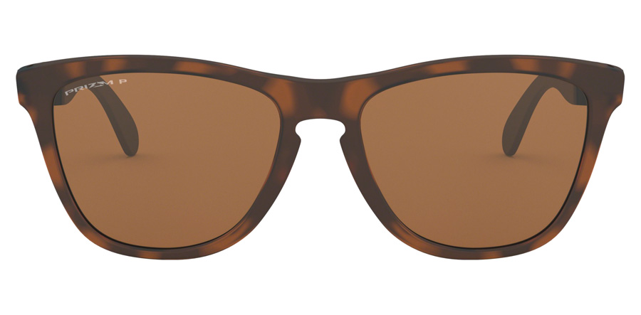 Oakley Frogskins Mix OO9428 Matte Brown / Tortoise 08 55mm Polarisiert