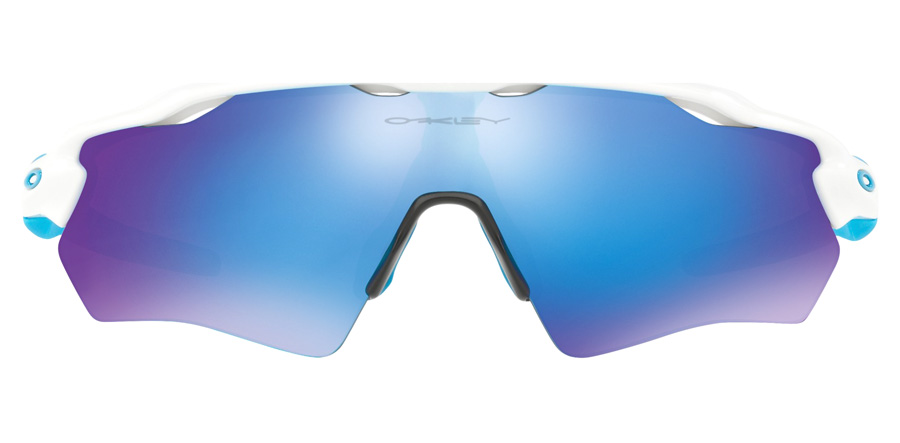 Oakley Youth Radar EV XS Path Age 8 Years + Weiß glänzend OJ9001-01 31mm