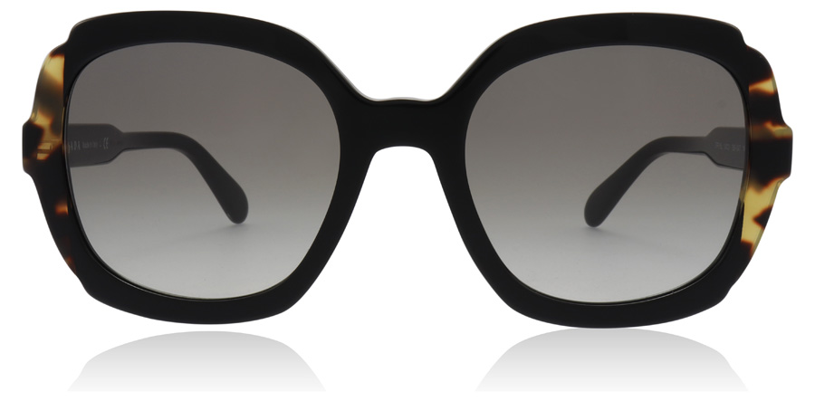 Prada PR16US Black / Medium Havana 3890A7 54mm