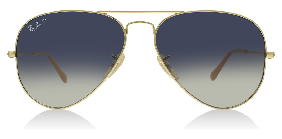 Ray-Ban RB3025 Gold 001/78 58mm Polarisiert
