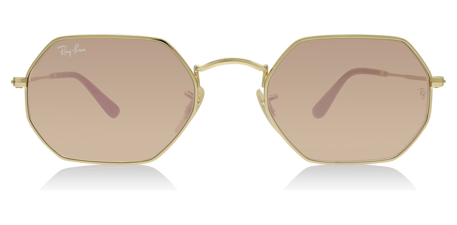 Ray-Ban RB3556N 3556N Gold 001/Z2 53mm
