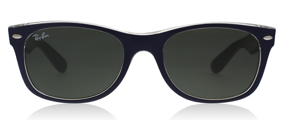 Ray-Ban RB2132 New Wayfarer Blau 6188 52mm