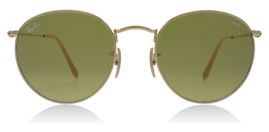 Ray-Ban RB3447 Gold 90644C 53mm