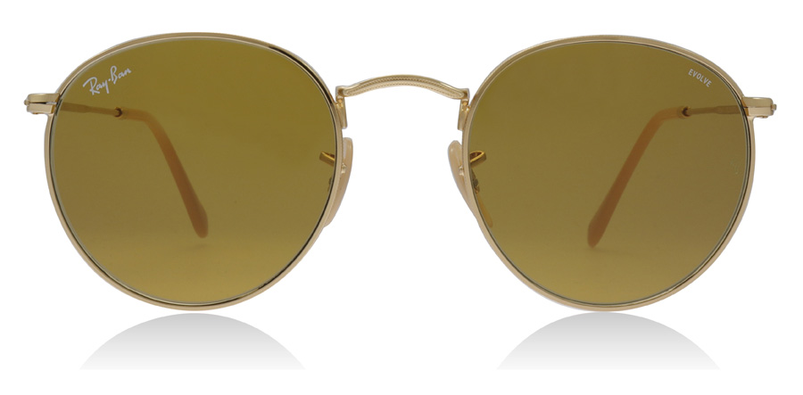 Ray-Ban RB3447 Gold 90644I 50mm
