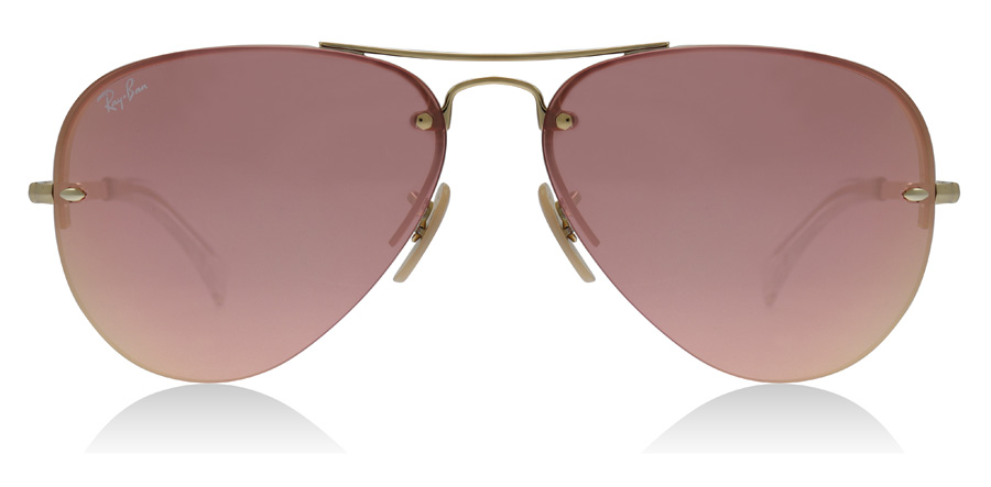 Ray-Ban RB3449 Gold 001/E4 59mm