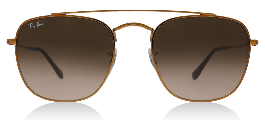 Ray-Ban RB3557 Sonnenbrille Dunkle Bronze 900396 51mm g3TDEaOs3