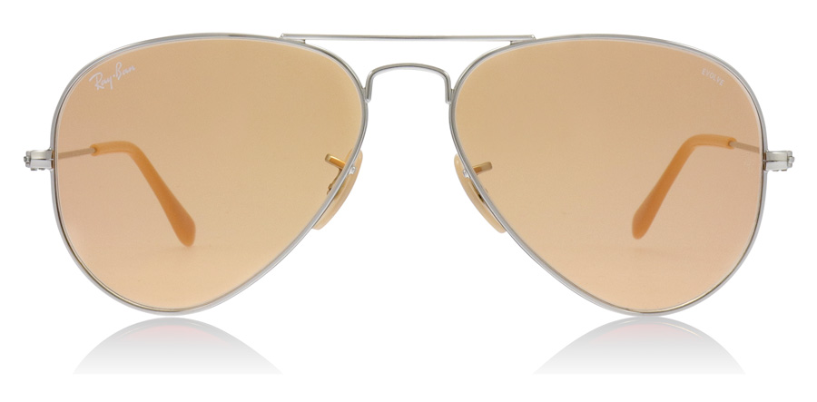 Ray-Ban RB3025 Silber 9065V9 55mm
