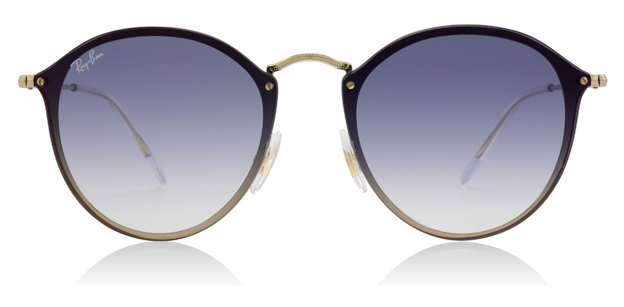 Ray-Ban RB3574N Blaze Round Gold 001/X0 59mm