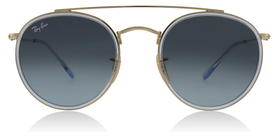 Ray-Ban RB3647N Gold / Grey 91233M 51mm