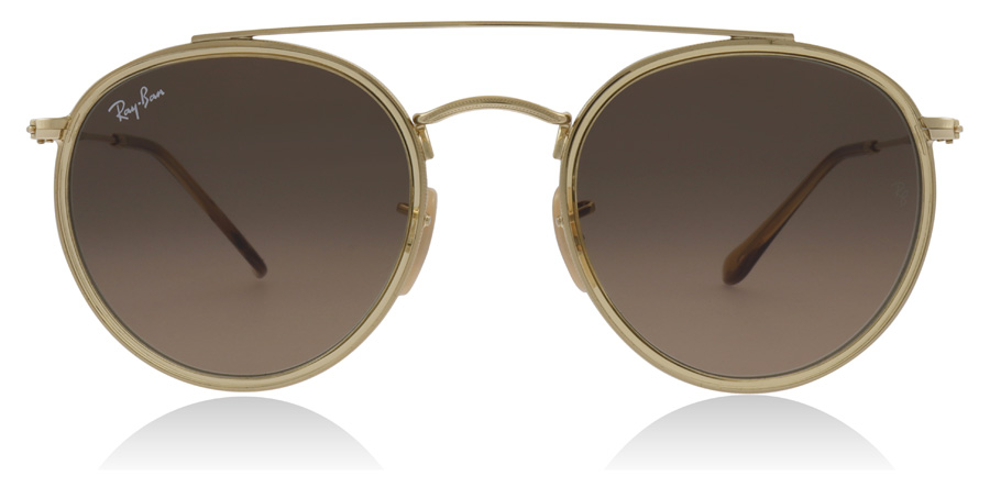 Ray-Ban RB3647N Gold / Yellow 912443 51mm