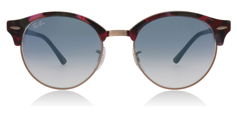 Ray-Ban RB4246 Clubround Spotted Grey / Violet 12573F 51mm