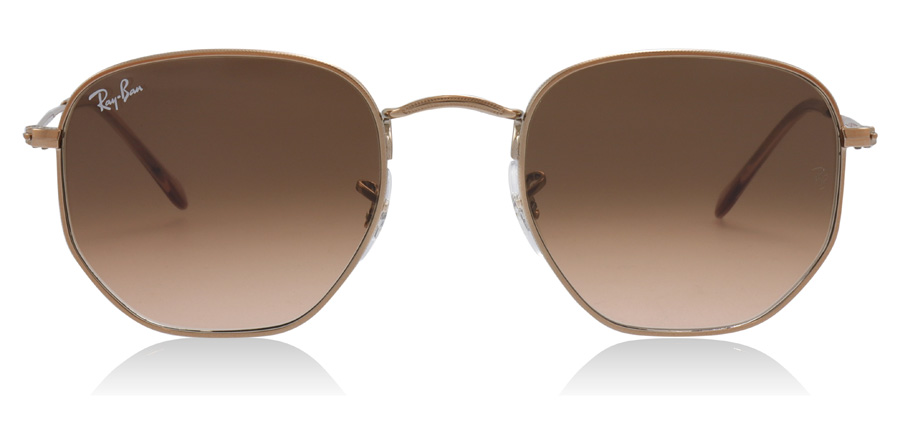 Ray-Ban RB3548N Hexagonal Copper 9069A5 51mm