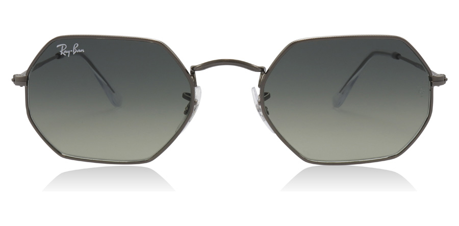 Ray-Ban RB3556N Octagonal Gunmetal 004/71 53mm