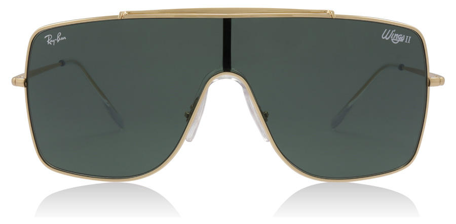 Ray-Ban Wings II RB3697 Gold 905071 35mm
