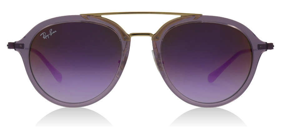 Ray-Ban Junior RJ9065S Age 8-12 Years Transparentes Violett 7036A9 48mm