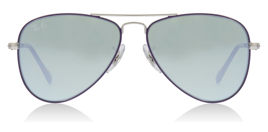 Ray-Ban Junior RJ9506S Age 4-8 Years Silver / Violet 262/30 50mm