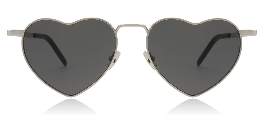 Saint Laurent SL301 Silver 001 52mm
