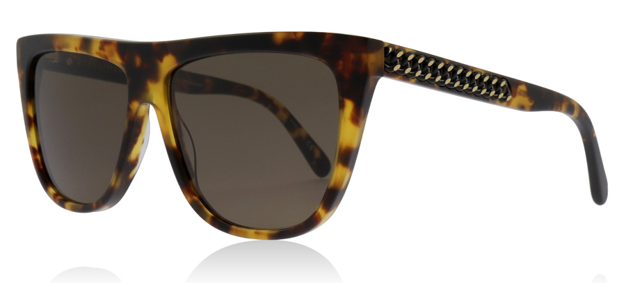Stella McCartney SC0149S Sonnenbrille Havanna 003 56mm guWoE