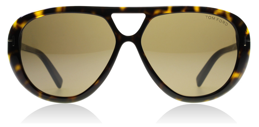 Tom Ford Marley FT0510 Dunkles Havanna 52J 59mm