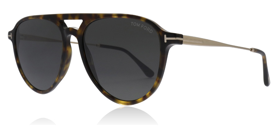 Tom Ford Carlo Sonnenbrille Dunkles Havanna 52A 56mm mj5usY