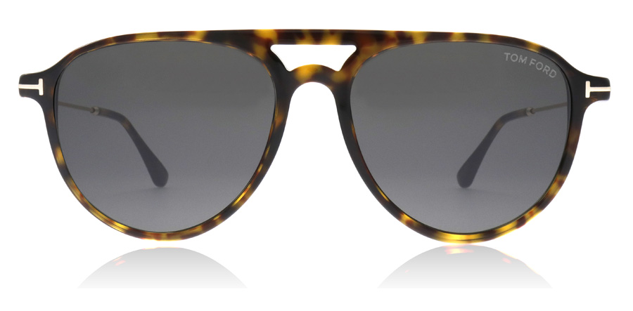 Tom Ford Carlo Sonnenbrille Dunkles Havanna 52A 56mm FTuuyh4