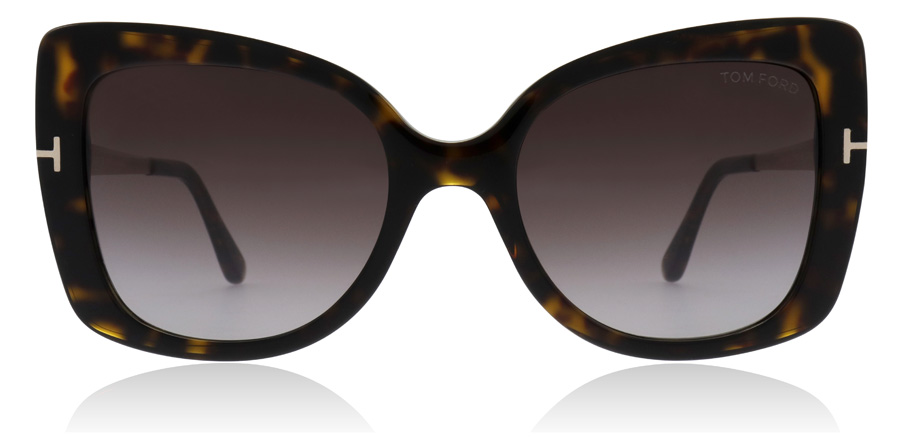 Tom Ford Gianna FT0609 Dark Havana 52T 54mm