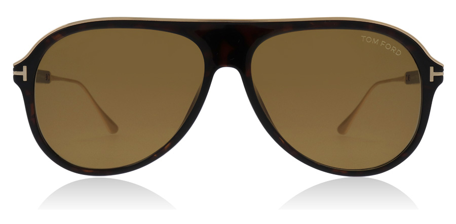 Tom Ford Nicholai FT0624 Dark Havana 52E 57mm