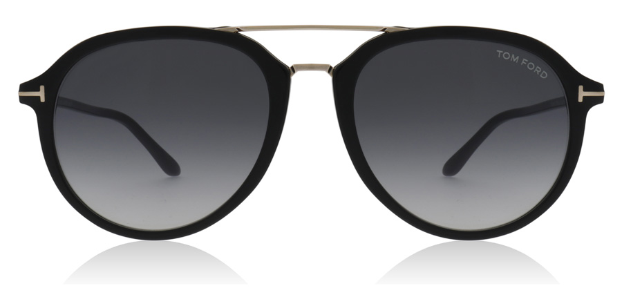 Tom Ford FT0674 Rupert Shiny Black 01B 55mm