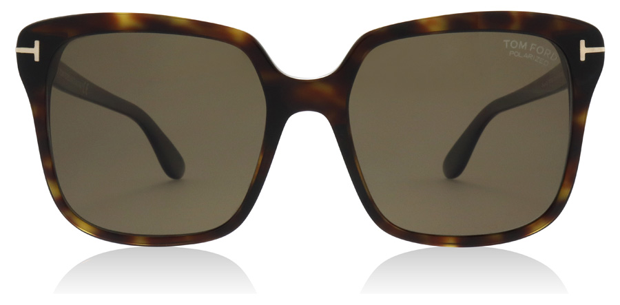 Tom Ford Faye-02 FT0788 Dark Havana 52H 56mm Polarisiert