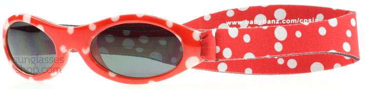 Baby Banz Adventure 0-2 Years Rot mit Punkten 45mm