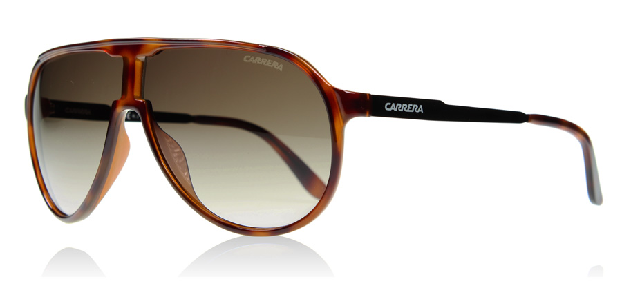 Carrera New Champion Sonnenbrille Dunkles Havanna 8F8 62mm XT6fT