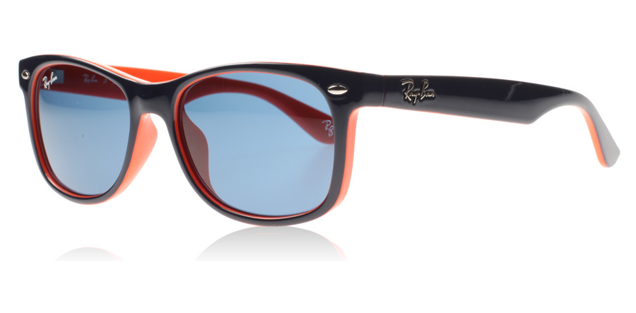 ray ban sonnenbrille blau orange