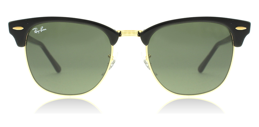 Ray-Ban RB3016 Schwarz / Gold W0365 49mm