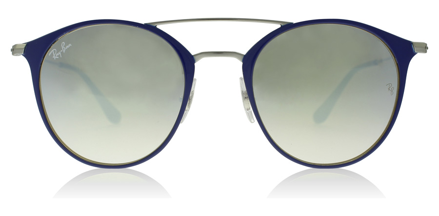Ray-Ban RB3546 Gunmetal / Blau 90109U 52mm