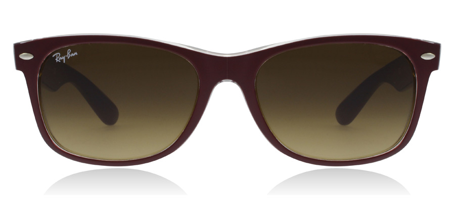 Ray-Ban RB2132 New Wayfarer Kastanienbraun 605485 52mm