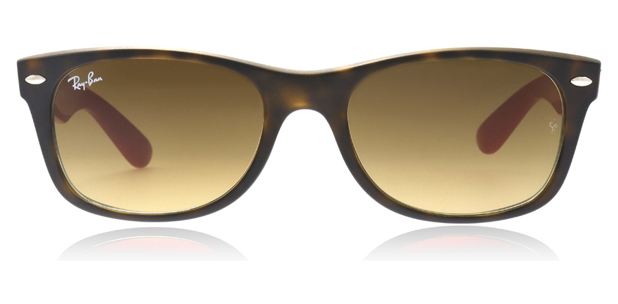 Ray-Ban RB2132 New Wayfarer Mattes Havana 618185 52mm