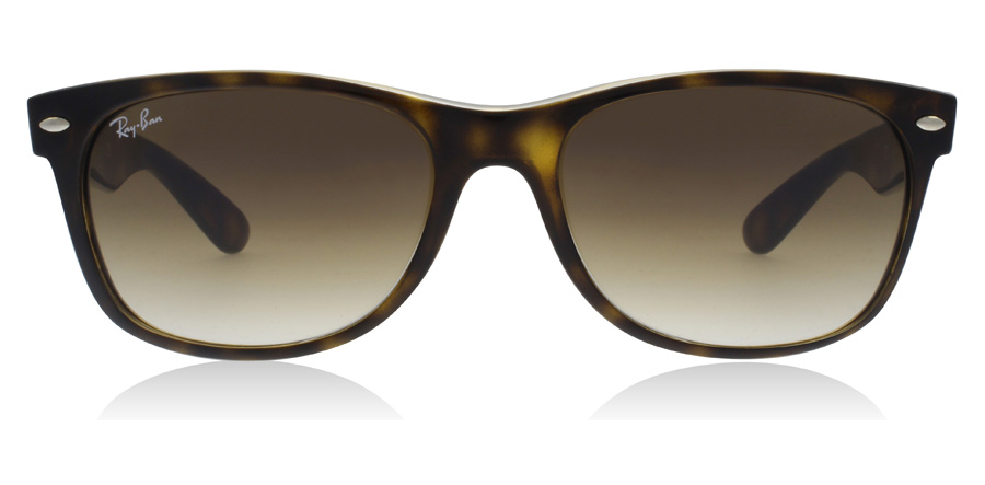 Ray-Ban New Wayfarer RB2132 Helles Havana 710/51 55mm