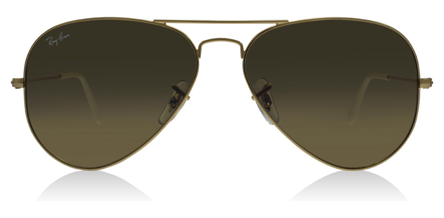 Ray-Ban RB3025 Gold 001/3K 62mm